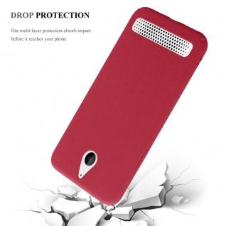 Cadorabo Hülle für Sony Xperia E1 in FROSTY ROT - Hardcase Handyhülle aus Plastik gegen Kratzer und Stöße - Schutzhülle Bumper Ultra Slim Back Case Hard Cover - Vorschau 4