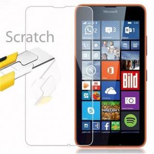 Cadorabo Panzer Folie für Nokia Lumia 640 - Schutzfolie in KRISTALL KLAR - Gehärtetes (Tempered) Display-Schutzglas in 9H Härte mit 3D Touch Kompatibilität - Vorschau 2