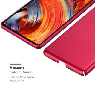 Cadorabo Hülle für Xiaomi Mi Mix 2 in METALL ROT - Hardcase Handyhülle aus Plastik gegen Kratzer und Stöße - Schutzhülle Bumper Ultra Slim Back Case Hard Cover - Vorschau 5