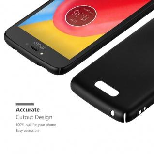 Cadorabo Hülle für Motorola MOTO C in METALL SCHWARZ - Hardcase Handyhülle aus Plastik gegen Kratzer und Stöße - Schutzhülle Bumper Ultra Slim Back Case Hard Cover - Vorschau 5