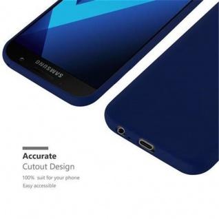 Cadorabo Hülle für Samsung Galaxy A3 2017 in CANDY DUNKEL BLAU - Handyhülle aus flexiblem TPU Silikon - Silikonhülle Schutzhülle Ultra Slim Soft Back Cover Case Bumper - Vorschau 5