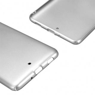 Cadorabo Hülle für HTC U ULTRA in METALL SILBER - Hardcase Handyhülle aus Plastik gegen Kratzer und Stöße - Schutzhülle Bumper Ultra Slim Back Case Hard Cover - Vorschau 5