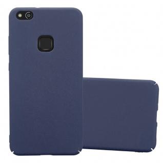 Cadorabo Hülle für Huawei P10 LITE in FROSTY BLAU - Hardcase Handyhülle aus Plastik gegen Kratzer und Stöße - Schutzhülle Bumper Ultra Slim Back Case Hard Cover