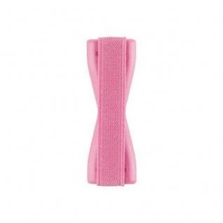 Cadorabo - Finger-Halterung Sling Grip für Smartphone / Tablet / iPod / eReader Griff Henkel Sling Schlaufe Riemen in ROSA