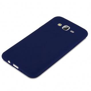 Cadorabo Hülle für Samsung Galaxy J7 2015 in CANDY DUNKEL BLAU - Handyhülle aus flexiblem TPU Silikon - Silikonhülle Schutzhülle Ultra Slim Soft Back Cover Case Bumper - Vorschau 4