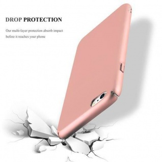 Cadorabo Hülle für Apple iPhone 6 PLUS / iPhone 6S PLUS in METALL ROSE GOLD - Hardcase Handyhülle aus Plastik gegen Kratzer und Stöße - Schutzhülle Bumper Ultra Slim Back Case Hard Cover - Vorschau 5