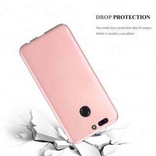 Cadorabo Hülle für Honor 8 PRO in METALL ROSÉ GOLD ? Hardcase Handyhülle aus Plastik gegen Kratzer und Stöße ? Schutzhülle Bumper Ultra Slim Back Case Hard Cover - Vorschau 3