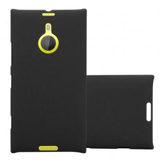 Cadorabo Hülle für Nokia Lumia 1520 in FROSTY SCHWARZ - Hardcase Handyhülle aus Plastik gegen Kratzer und Stöße - Schutzhülle Bumper Ultra Slim Back Case Hard Cover