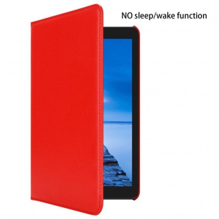 """Cadorabo Tablet Hülle für Huawei MediaPad T3 7 (7, 0"""" Zoll) in MOHN ROT Book Style Schutzhülle OHNE Auto Wake Up mit Standfunktion und Gummiband Verschluss - Vorschau 3"""