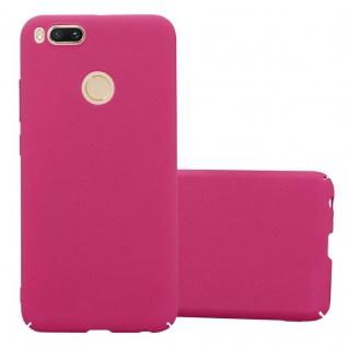 Cadorabo Hülle für Xiaomi Mi A1 / 5X in FROSTY PINK - Hardcase Handyhülle aus Plastik gegen Kratzer und Stöße - Schutzhülle Bumper Ultra Slim Back Case Hard Cover