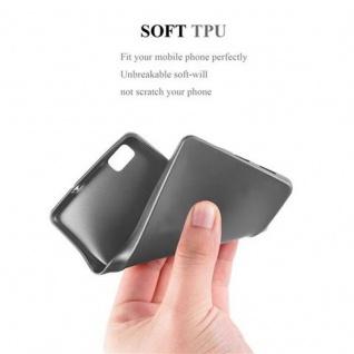 Cadorabo Hülle für Huawei P8 LITE 2015 in METALLIC GRAU - Handyhülle aus flexiblem TPU Silikon - Silikonhülle Schutzhülle Ultra Slim Soft Back Cover Case Bumper - Vorschau 5