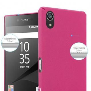Cadorabo Hülle für Sony Xperia Z5 in FROSTY PINK - Hardcase Handyhülle aus Plastik gegen Kratzer und Stöße - Schutzhülle Bumper Ultra Slim Back Case Hard Cover - Vorschau 3