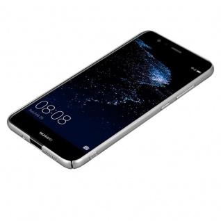 Cadorabo Hülle für Huawei P10 LITE in METALL SILBER - Hardcase Handyhülle aus Plastik gegen Kratzer und Stöße - Schutzhülle Bumper Ultra Slim Back Case Hard Cover - Vorschau 3