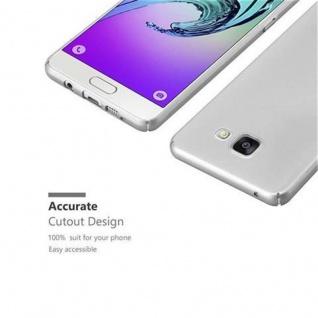 Cadorabo Hülle für Samsung Galaxy A3 2016 in METALL SILBER ? Hardcase Handyhülle aus Plastik gegen Kratzer und Stöße ? Schutzhülle Bumper Ultra Slim Back Case Hard Cover - Vorschau 3