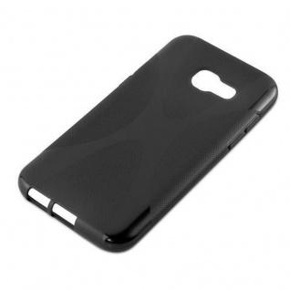 Cadorabo Hülle für Samsung Galaxy A3 2017 in OXID SCHWARZ - Handyhülle aus flexiblem TPU Silikon - Silikonhülle Schutzhülle Ultra Slim Soft Back Cover Case Bumper - Vorschau 4