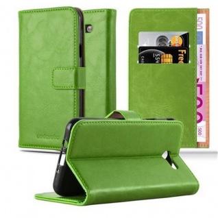 Cadorabo Hülle für Samsung Galaxy J7 2017 US Version in GRAS GRÜN - Handyhülle mit Magnetverschluss, Standfunktion und Kartenfach - Case Cover Schutzhülle Etui Tasche Book Klapp Style
