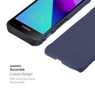 Cadorabo Hülle für Samsung Galaxy XCover 4 in FROSTY BLAU - Hardcase Handyhülle aus Plastik gegen Kratzer und Stöße - Schutzhülle Bumper Ultra Slim Back Case Hard Cover - Vorschau 5