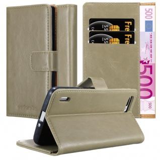 Cadorabo Hülle für Honor 6 PLUS in CAPPUCCINO BRAUN ? Handyhülle mit Magnetverschluss, Standfunktion und Kartenfach ? Case Cover Schutzhülle Etui Tasche Book Klapp Style - Vorschau 1
