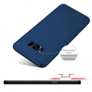 Cadorabo Hülle für Samsung Galaxy S8 PLUS in METALL BLAU - Hardcase Handyhülle aus Plastik gegen Kratzer und Stöße - Schutzhülle Bumper Ultra Slim Back Case Hard Cover - Vorschau 4