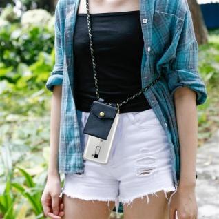 Cadorabo Handy Kette für LG K10 2016 in CAMOUFLAGE ? Silikon Necklace Umhänge Hülle mit Gold Ringen, Kordel Band Schnur und abnehmbarem Etui ? Schutzhülle - Vorschau 5
