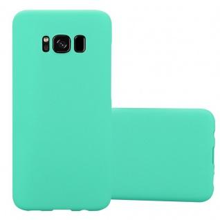 Cadorabo Hülle für Samsung Galaxy S8 in FROSTY GRÜN - Hardcase Handyhülle aus Plastik gegen Kratzer und Stöße - Schutzhülle Bumper Ultra Slim Back Case Hard Cover