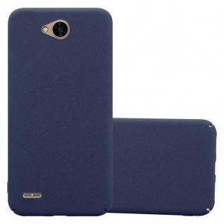 Cadorabo Hülle für LG X Power 2 in FROSTY BLAU - Hardcase Handyhülle aus Plastik gegen Kratzer und Stöße - Schutzhülle Bumper Ultra Slim Back Case Hard Cover