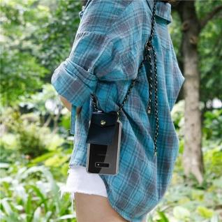 Cadorabo Handy Kette für Samsung Galaxy S10e in CAMOUFLAGE ? Silikon Necklace Umhänge Hülle mit Gold Ringen, Kordel Band Schnur und abnehmbarem Etui ? Schutzhülle - Vorschau 5