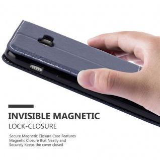 Cadorabo Hülle für Samsung Galaxy A3 2017 in BLAU BRAUN ? Handyhülle mit Magnetverschluss, Standfunktion und Kartenfach ? Case Cover Schutzhülle Etui Tasche Book Klapp Style - Vorschau 4