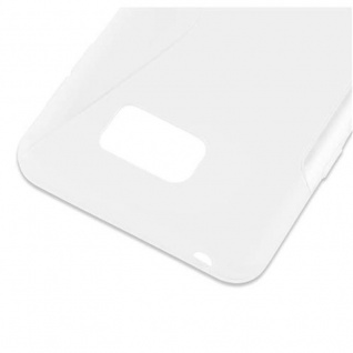 Cadorabo Hülle für Samsung Galaxy NOTE 5 in HALB TRANSPARENT ? Handyhülle aus flexiblem TPU Silikon ? Silikonhülle Schutzhülle Ultra Slim Soft Back Cover Case Bumper - Vorschau 4