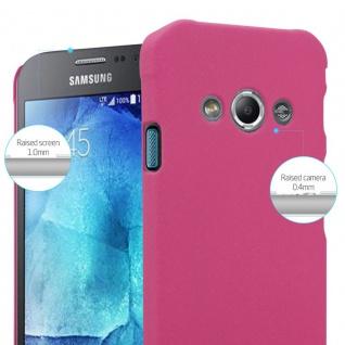 Cadorabo Hülle für Samsung Galaxy XCover 3 in FROSTY PINK - Hardcase Handyhülle aus Plastik gegen Kratzer und Stöße - Schutzhülle Bumper Ultra Slim Back Case Hard Cover - Vorschau 4