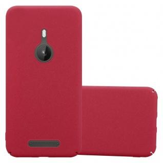Cadorabo Hülle für Nokia Lumia 925 in FROSTY ROT Hardcase Handyhülle aus Plastik gegen Kratzer und Stöße Schutzhülle Bumper Ultra Slim Back Case Hard Cover
