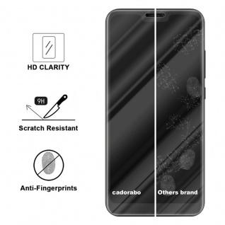 Cadorabo Panzer Folie für Xiaomi Mi A2 Lite - Schutzfolie in KRISTALL KLAR ? Gehärtetes (Tempered) Display-Schutzglas in 9H Härte mit 3D Touch Kompatibilität - Vorschau 3