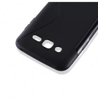 Cadorabo Hülle für Samsung Galaxy J5 2015 in OXID SCHWARZ ? Handyhülle aus flexiblem TPU Silikon ? Silikonhülle Schutzhülle Ultra Slim Soft Back Cover Case Bumper - Vorschau 2