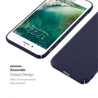 Cadorabo Hülle für Apple iPhone 7 / iPhone 7S / iPhone 8 in FROSTY BLAU - Hardcase Handyhülle aus Plastik gegen Kratzer und Stöße - Schutzhülle Bumper Ultra Slim Back Case Hard Cover - Vorschau 5