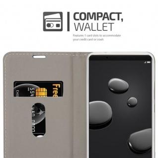 Cadorabo Hülle für Huawei MATE 10 PRO in GRAU SCHWARZ - Handyhülle mit Magnetverschluss, Standfunktion und Kartenfach - Case Cover Schutzhülle Etui Tasche Book Klapp Style - Vorschau 5