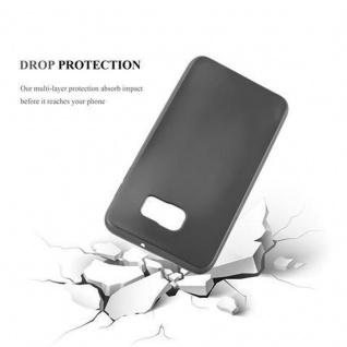 Cadorabo Hülle für Samsung Galaxy S6 EDGE in METALLIC GRAU - Handyhülle aus flexiblem TPU Silikon - Silikonhülle Schutzhülle Ultra Slim Soft Back Cover Case Bumper - Vorschau 3
