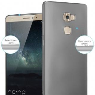 Cadorabo Hülle für Huawei MATE S in METALLIC GRAU - Handyhülle aus flexiblem TPU Silikon - Silikonhülle Schutzhülle Ultra Slim Soft Back Cover Case Bumper - Vorschau 4