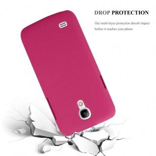 Cadorabo Hülle für Samsung Galaxy S4 MINI in FROSTY PINK - Hardcase Handyhülle aus Plastik gegen Kratzer und Stöße - Schutzhülle Bumper Ultra Slim Back Case Hard Cover - Vorschau 4