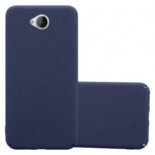 Cadorabo Hülle für Nokia Lumia 650 in FROSTY BLAU - Hardcase Handyhülle aus Plastik gegen Kratzer und Stöße - Schutzhülle Bumper Ultra Slim Back Case Hard Cover