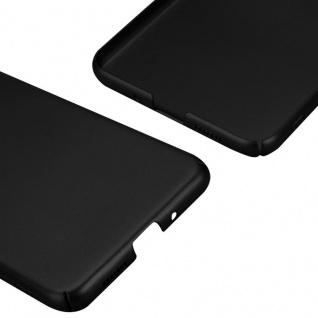 Cadorabo Hülle für Huawei P10 LITE in METALL SCHWARZ - Hardcase Handyhülle aus Plastik gegen Kratzer und Stöße - Schutzhülle Bumper Ultra Slim Back Case Hard Cover - Vorschau 5