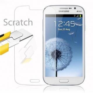 Cadorabo Panzer Folie für Samsung Galaxy GRAND DUOS / GRAND NEO - Schutzfolie in KRISTALL KLAR - Gehärtetes (Tempered) Display-Schutzglas in 9H Härte mit 3D Touch Kompatibilität - Vorschau 2