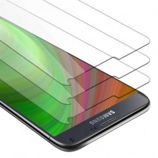 Cadorabo 3x Panzer Folie für Samsung Galaxy NOTE 4 - Schutzfolie in KRISTALL KLAR - 3er Pack Gehärtetes (Tempered) Display-Schutzglas in 9H Härte mit 3D Touch Kompatibilität