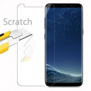 Cadorabo Panzer Folie für Samsung Galaxy S8 PLUS - Schutzfolie in KRISTALL KLAR - Gehärtetes (Tempered) Display-Schutzglas in 9H Härte mit 3D Touch Kompatibilität - Vorschau 2