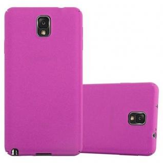 Cadorabo Hülle für Samsung Galaxy NOTE 3 in FROSTY PINK - Hardcase Handyhülle aus Plastik gegen Kratzer und Stöße - Schutzhülle Bumper Ultra Slim Back Case Hard Cover