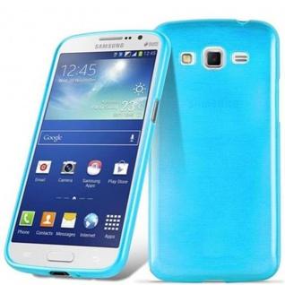 Cadorabo Hülle für Samsung Galaxy GRAND 2 in TÜRKIS - Handyhülle aus flexiblem TPU Silikon - Silikonhülle Schutzhülle Ultra Slim Soft Back Cover Case Bumper