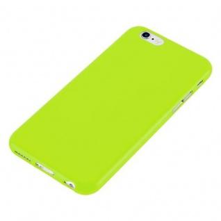 Cadorabo Hülle für Apple iPhone 6 / iPhone 6S in JELLY GRÜN - Handyhülle aus flexiblem TPU Silikon - Silikonhülle Schutzhülle Ultra Slim Soft Back Cover Case Bumper - Vorschau 2