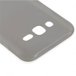 Cadorabo Hülle für Samsung Galaxy J5 2015 in TRANSPARENT SCHWARZ - Handyhülle aus flexiblem TPU Silikon - Silikonhülle Schutzhülle Ultra Slim Soft Back Cover Case Bumper - Vorschau 4