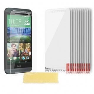 Cadorabo Displayschutzfolien für HTC ONE E8 - Schutzfolien in HIGH CLEAR ? 10 Stück hochtransparenter Schutzfolien gegen Staub, Schmutz und Kratzer