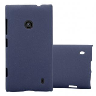 Cadorabo Hülle für Nokia Lumia 520 in FROSTY BLAU Hardcase Handyhülle aus Plastik gegen Kratzer und Stöße Schutzhülle Bumper Ultra Slim Back Case Hard Cover
