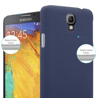 Cadorabo Hülle für Samsung Galaxy NOTE 3 NEO in FROSTY BLAU - Hardcase Handyhülle aus Plastik gegen Kratzer und Stöße - Schutzhülle Bumper Ultra Slim Back Case Hard Cover - Vorschau 3